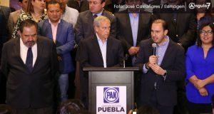 CEN del PAN admite que Cárdenas está en segundo lugar de preferencias