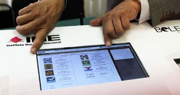 Esta es la urna electrónica que el INE propone en futuras elecciones