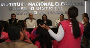 Labor del INE, garantizar elecciones en paz, afirma consejera