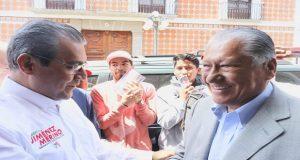 """Melquiades Morales y la """"24 de mayo"""" refrendan apoyo a Jiménez"""
