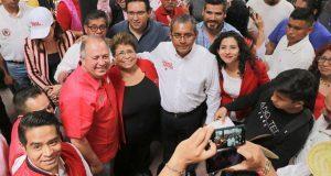 En Atlixco, Movimiento Antorchista respalda a Jiménez Merino