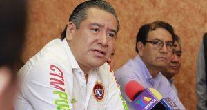 Leobardo Soto aclara que CTM no respalda a Jiménez Merino