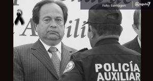 Ludivino Mora, director de la Policía Auxiliar Puebla, fallece en Teziutlán