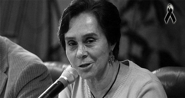 Fallece María de los Ángeles Moreno, 1ª presidenta nacional del PRI