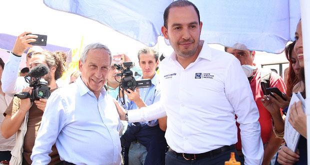 En menos de 1 semana, Cortés vuelve a Puebla para apoyar a Cárdenas