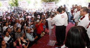 En Xicotepec, piden a Barbosa mejorar seguridad, MP y combatir pobreza