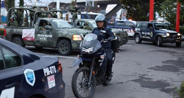 Montan operativo en mercado Morelos por venta de alcohol en la vía pública