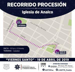 Habrá operativo de seguridad en Puebla capital por Semana Santa