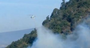 PC liquida 6 incendios forestales y atiende 12 activos en Puebla