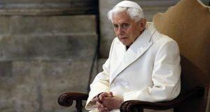 Pederastia en la Iglesia se deben a revolución sexual: Benedicto XVI