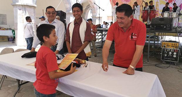 Realizan torneo de ajedrez en Feria Ahuatempan 2019