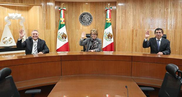 Renuevan presidencias de salas del Tepjf en CDMX, Toluca y Xalapa