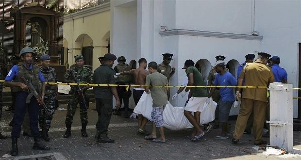 Van 207 muertos y 450 heridos por 8 ataques con bombas en Sri Lanka