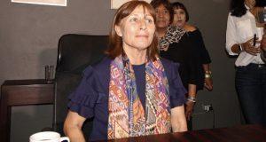 En Puebla, Tatiana Clouthier evita hablar de campañas y elecciones