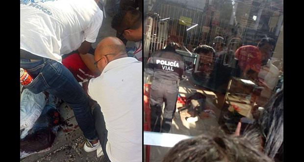 Un muerto y su acompañante herida, saldo del ataque armado en Huejotzingo