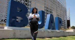 Alumna de BUAP competirá en karate en Juegos Panamericanos de Lima