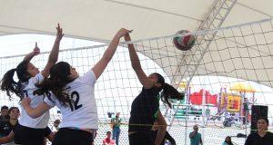 Poblanos se preparan para Torneo Nacional de Voleibol de Antorcha