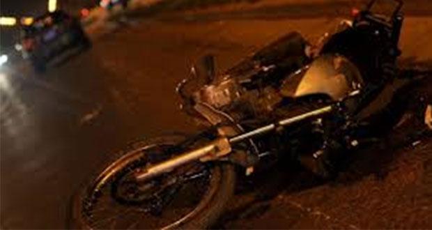 Auxilian a motociclista accidentado que pasa la noche en Periférico
