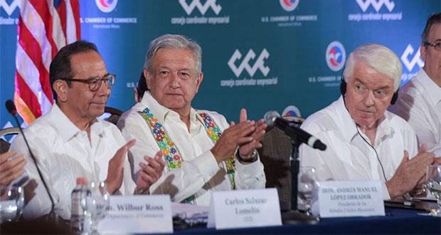 Gobierno de Trump, dispuesto a invertir en Tren Maya y sureste: AMLO