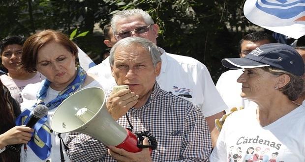Aranda regresa al PAN con apoyo a Cárdenas y será una de sus voceras