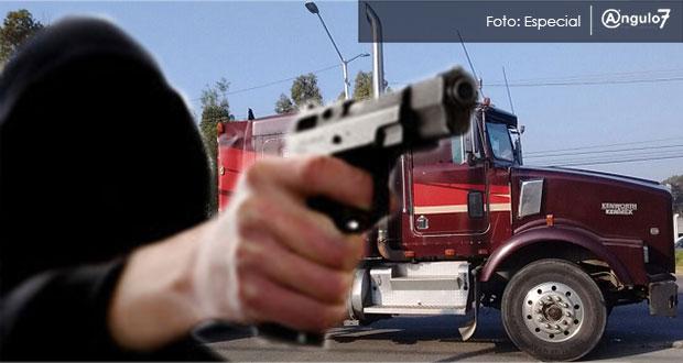 Hasta marzo, robo en carreteras de Puebla aumenta 52% y a transeúnte sube 27%
