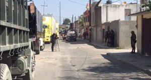 Reportan balacera por rescate de dos tianguistas en Texmelucan