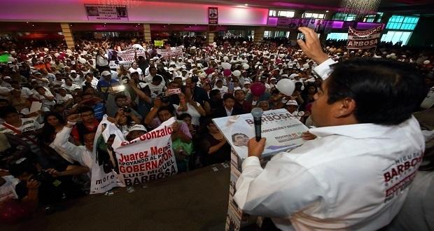 Soluciones concretas a problemas urgentes, ofrece Barbosa