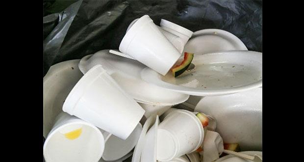 Diputados piden a fabricantes de plásticos y unicel migrar a biodegradables