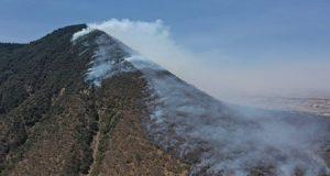 Hasta abril, Puebla es 2º con más superficie dañada por incendios forestales