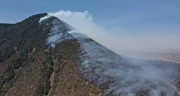 Tras varios días, controlan incendio en El Pinal; pronto será apagado: PC