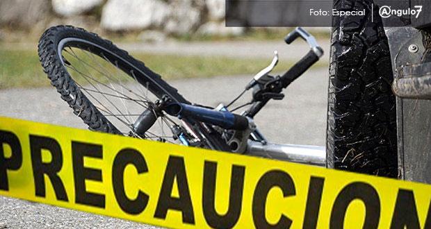 Ruta 38A atropella a ciclista en Solidaridad y le causa la muerte