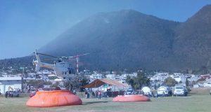 Tras 5 días, continúa labor para sofocar incendio en cerro El Pinal