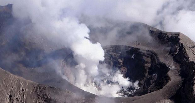 Popocatépetl registra ligera actividad con 29 exhalaciones: PC
