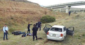 Muere presunto delincuente en balacera con policías de Chignahuapan