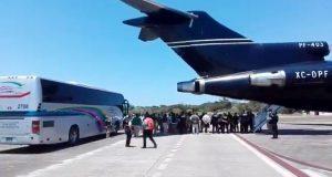 Desde Veracruz, deportan a 204 hondureños por estancia irregular