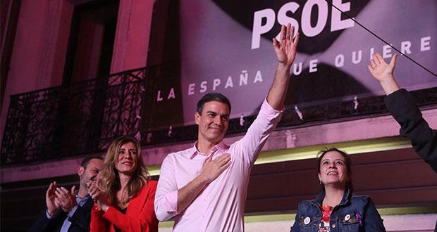 PSOE gana elección en España; necesita alianza para gobernar