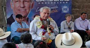 Mejorar conectividad en la Sierra Norte es una prioridad: Cárdenas