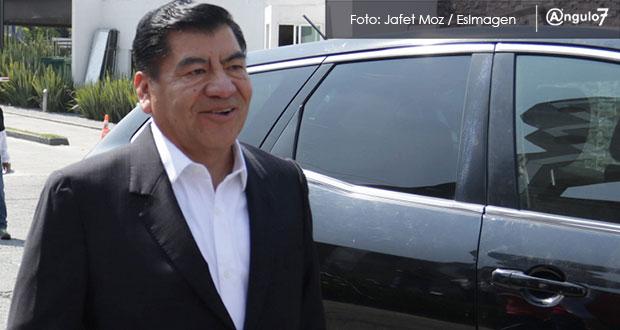 Delegación de FGR en Puebla considera que Marín es prófugo de la justicia