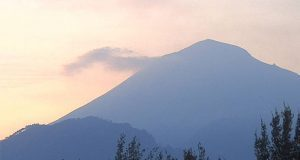 Reporta PC ligero incremento de exhalaciones del Popocatépetl