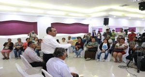 Jiménez Merino ofrece revisar concesión de agua