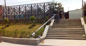 Antorcha logra luminarias para Casa de Cultura en Balcones del Sur