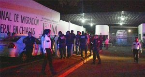 Ahora, 16 migrantes escapan del INM en Chiapas; aún buscan a 600