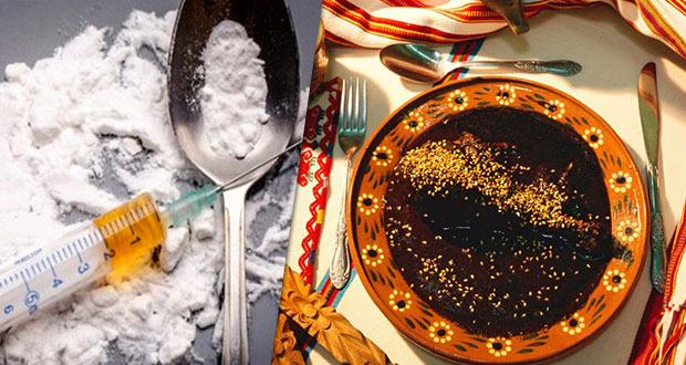 Interceptan heroína en Ecatepec; era enviada en mole a Nueva York