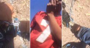 El caso del niño rescatado en SLP tras ser encadenado por padres