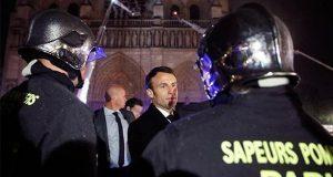 Tesoros de Notre Dame se salvan de fuego; reconstruirían en 5 años