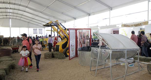 Conoce proyectos sustentables y agroindustriales en Feria de Puebla