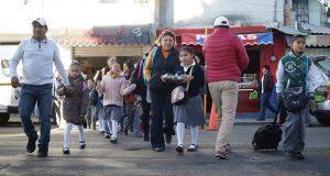 Tras Semana Santa, regresan a clases 1.8 millones de poblanos