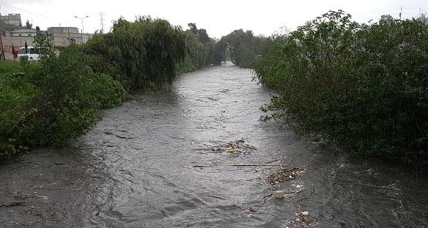 Deben atender 13 ríos y barrancas de capital contra inundaciones: PC