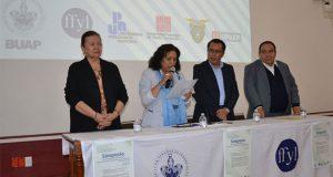 Inicia simposio sobre educación superior en el Carolino de la BUAP