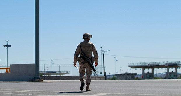 """Trump envía """"soldados armados"""" tras conflicto con militares mexicanos"""